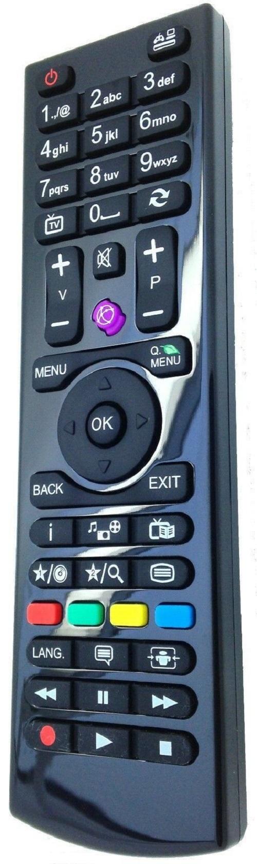 New Remote Control for TV Techwood 32AO2B 40AO2B 50AO2B 32A02B 40A02B 50A02B